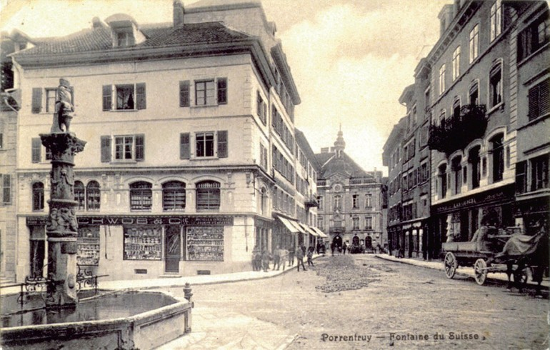 Magasin à Porrentruy